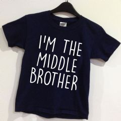 I'M THE MIDDLE BROTHER  T-shirt - Age 0-12